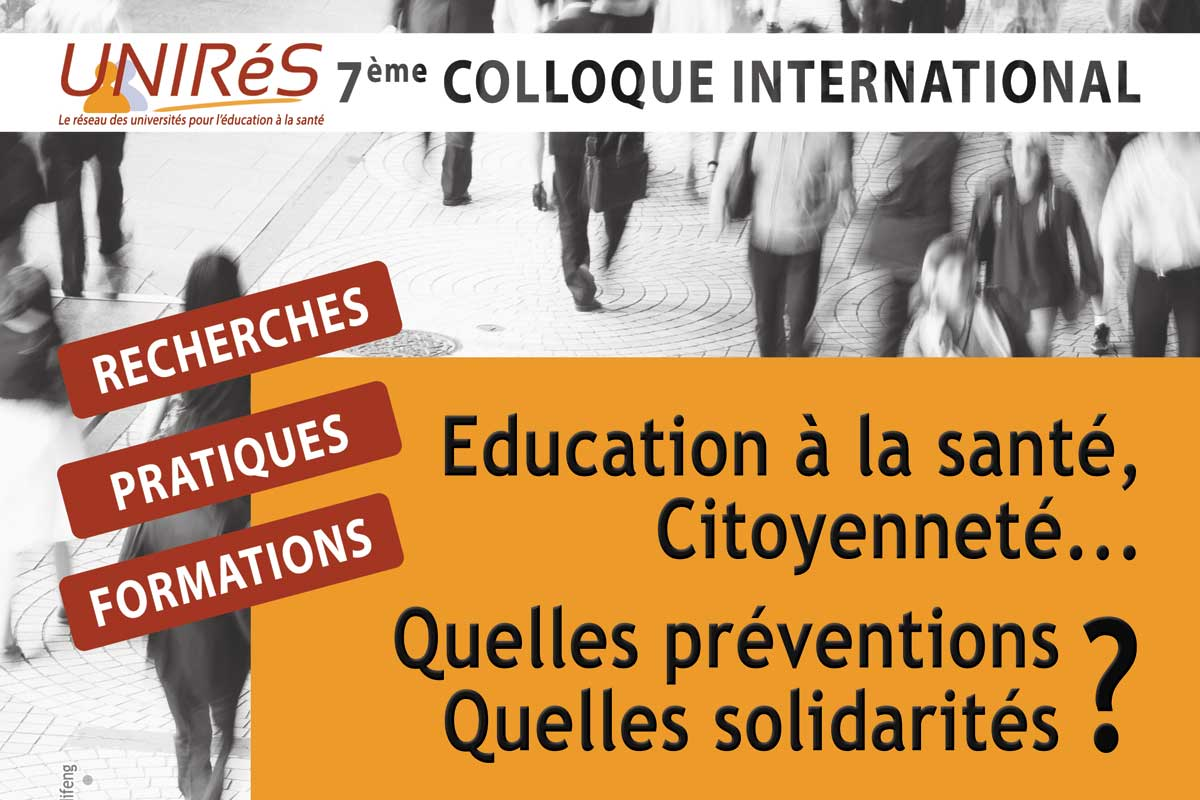 Colloque UNIRES 2018