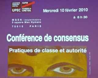 Affiche consensus 2010