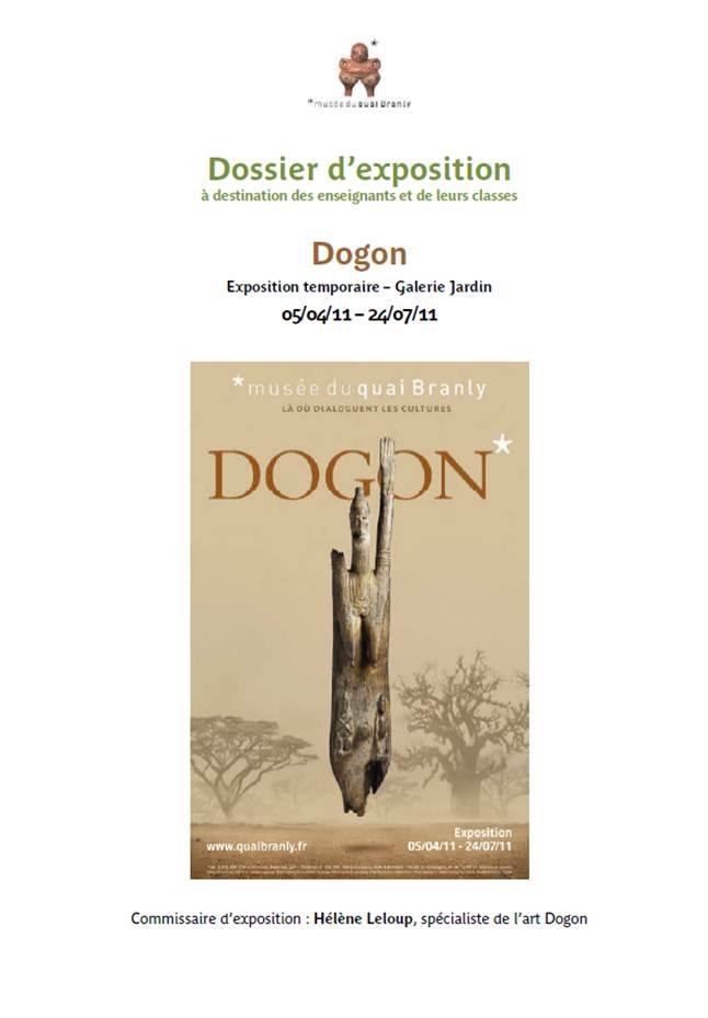 Quai Branly : dossier pédagogique Dogon