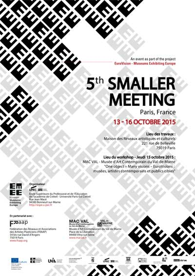 EMEE - 5th Smaller Meeting - Octobre 2015