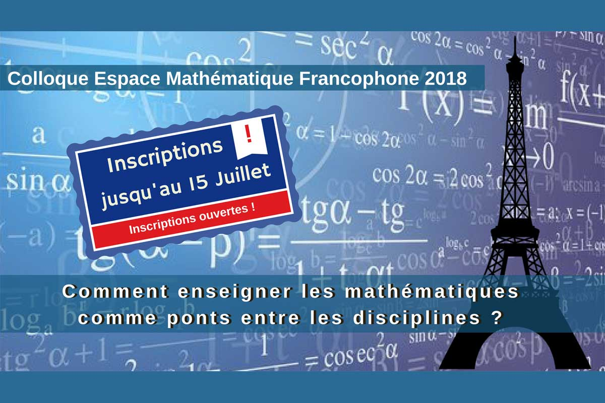Colloque international EMF 2018