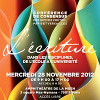 Conférence de consensus 2012