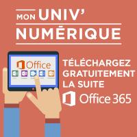 Mon Univ Numérique - Téléchargez la suite Office 365 !