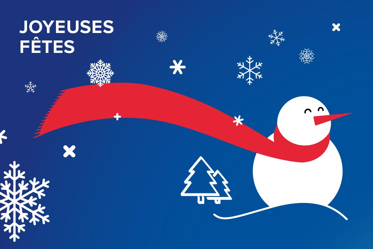 Fermeture de Noël de l'UPEC