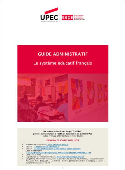 Guide administratif