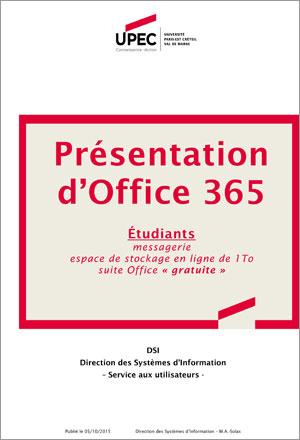 Présentation Office 365