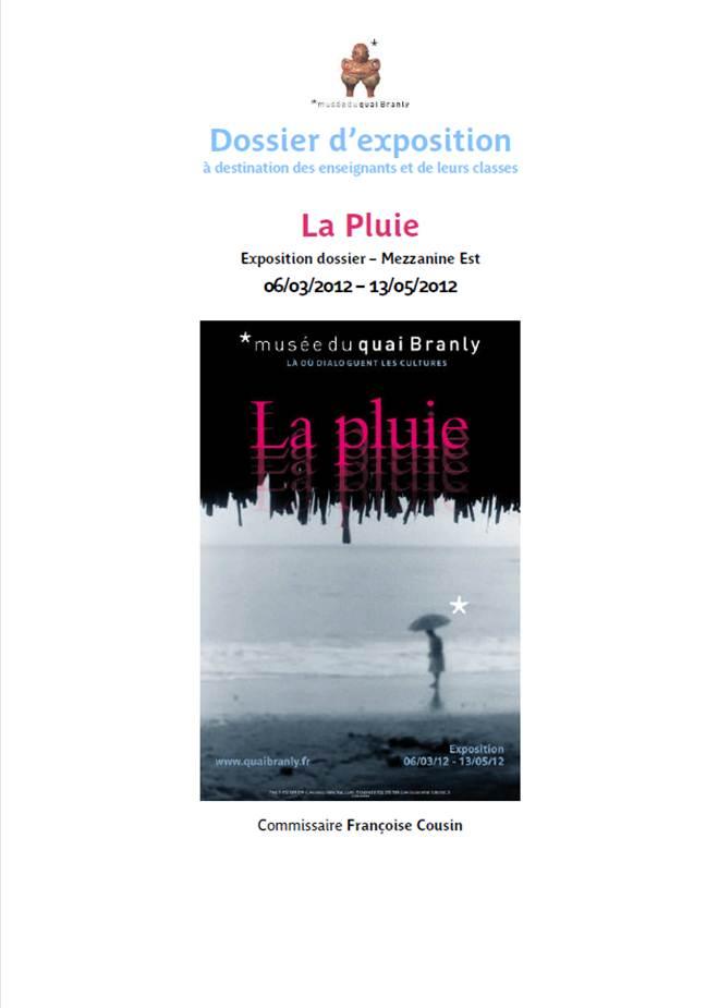 """Quai Branly : Dossier pédagogique """"La pluie"""""""
