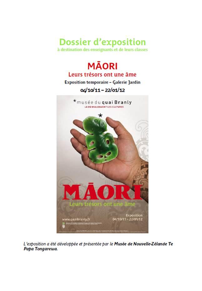 Quai Branly : dossier pédagogique Maori