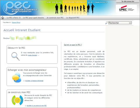 Portefeuille d'expérience et de compétences (PEC)