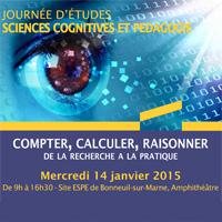 Journée d'études - Sciences cognitives et pédagogie - 14.01.2015